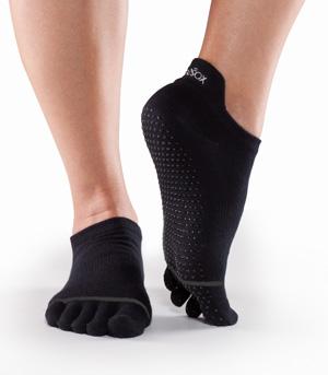 ToeSox Full Toe Low Rise Bella Grip Socks by ToeSox, Inc.