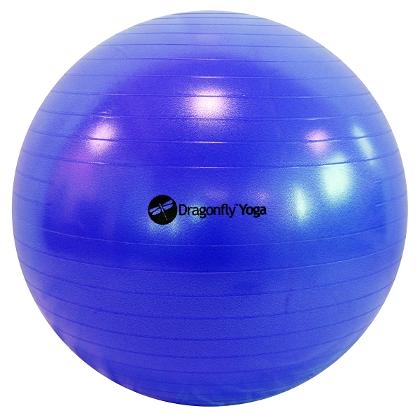 Dragonfly 75cm Premium Anti-Burst Yoga Ball by Dragonfly