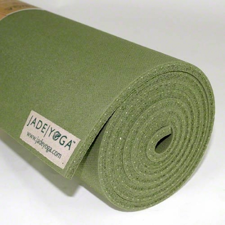 Jade Harmony Natural Rubber Yoga Mat Fusion Yoga Direct