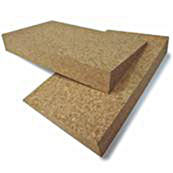 Cork Yoga Wedge 20.25″ x 4.5″ x 1.5″ by Yoga Direct
