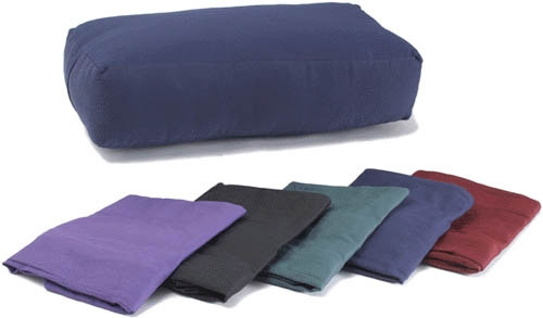Cover for Rectangular Cotton Yoga Bolster by Yoga Direct