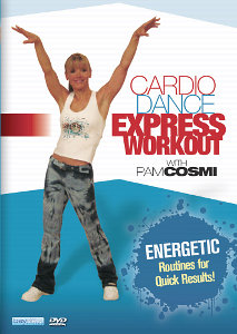 Cardio Dance Express Workout With Pam Cosmi (DVD)