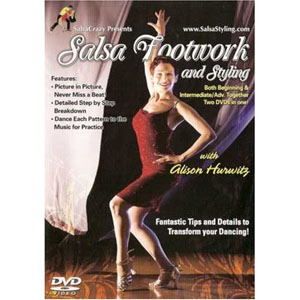 Salsa Dance Footwork And Styling (DVD) by BayView