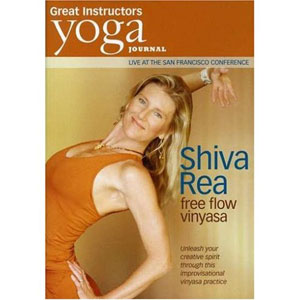 Yoga Journal: Shiva Rea Free Flow Vinyasa (DVD) by BayView