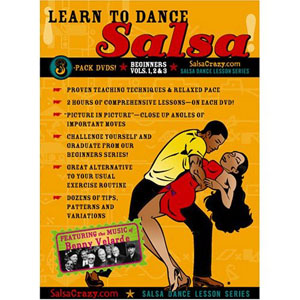 Learn To Dance Salsa 3 Pk For Beginners (3 DVDs) by BayView