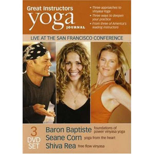Yoga Journal: Great Instructors – Baron Baptiste, Shiva Rea, Seane Corn (3 DVDs) by BayView