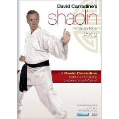 David Carradines Shaolin Cardio Kick Boxing Workout (DVD) by BayView