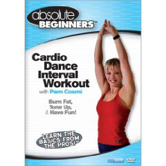 Absolute Beginners Cardio Dance Interval Workout with Pam Cosmi (DVD) by BayView