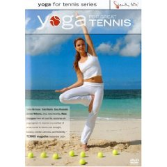 Yoga for Great Tennis with Anastasia (DVD)