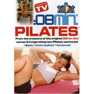 08 Minute Pilates: Basic, Intermediate and Advanced (DVD) by BayView