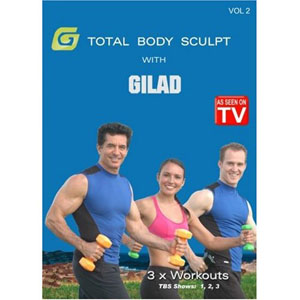 Gilad: Total Body Sculpt Workout 2 (DVD) by BayView