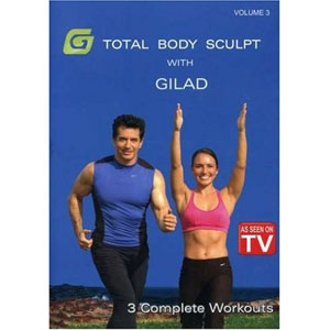 Gilad: Total Body Sculpt Workout 3 (DVD) by BayView