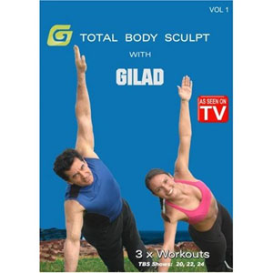Gilad: Total Body Sculpt Workout 1 (DVD) by BayView