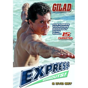 Gilad: 15 Targeted Express Workouts (2 DVDs) by BayView