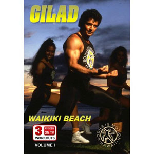 Gilad: Bodies In Motion Waikiki Beach Workout (DVD) by BayView
