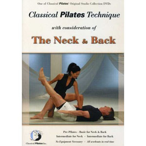 Classical Pilates Technique With Consideration Of The Neck and Back (DVD)