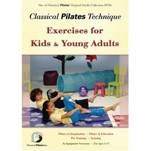 Classical Pilates Kids and Young Adults (DVD) by BayView