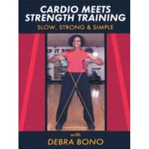 Cardio Meets Strength Training W/ Debra Bono (DVD) by BayView