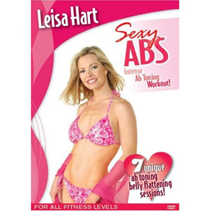 Leisa Hart: Sexy Abs Waist Trimming Workout (DVD) by BayView