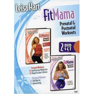 Leisa Hart: Fitmama Prenatal and Postnatal Pregnancy Workout (2 DVDs) by BayView
