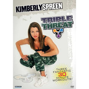 Kimberly Spreen: Triple Threat – Cardio Kickboxing / Functional Power / Flow (DVD) by BayView