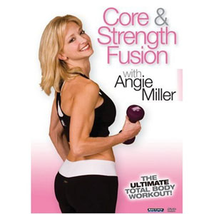 Angie Miller: Core and Strength Fusion Total Body Workout (DVD) by BayView