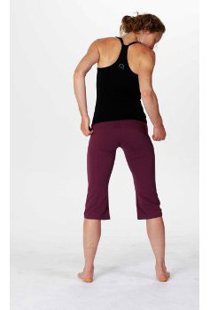 Hyde Ruched Capri Pant by HydeOrganic