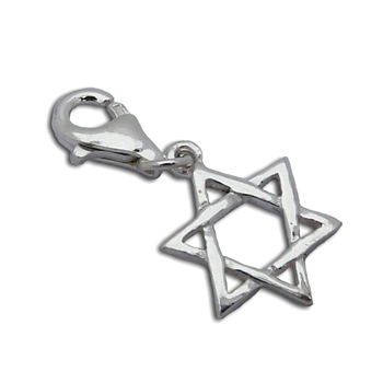 Charmas Star of David Charm by Shanti Boutique