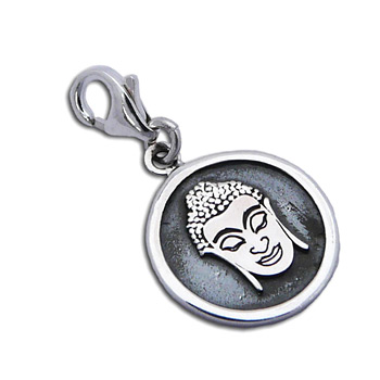 Charmas Buddha Portrait Charm by Shanti Boutique