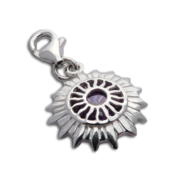 Charmas Crown Chakra Stone Charm Mini by Shanti Boutique
