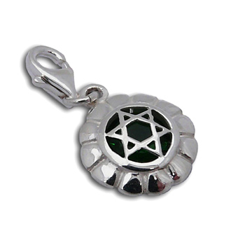 Charmas Heart Chakra Stone Charm Mini