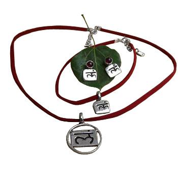 Strength Root Chakra Jewelry Set - 17