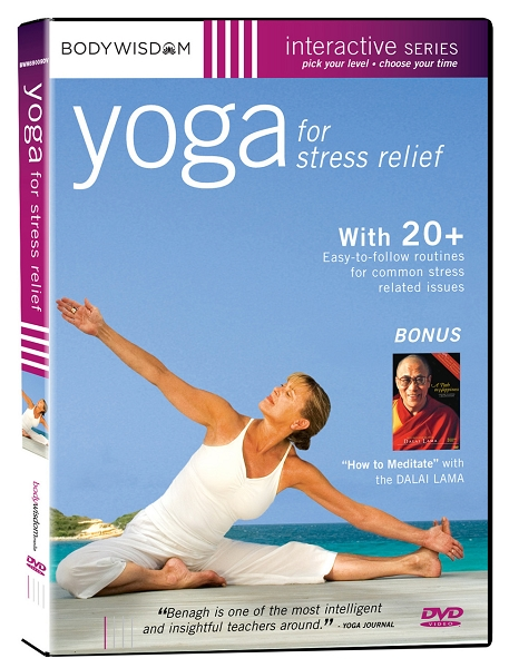 Yoga For Stress Relief DVD By Barbara Benagh Yoga Direct