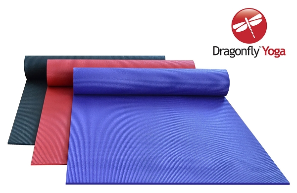 DragonFly Studio Deluxe Sticky Yoga Mat (6mm) by Dragonfly