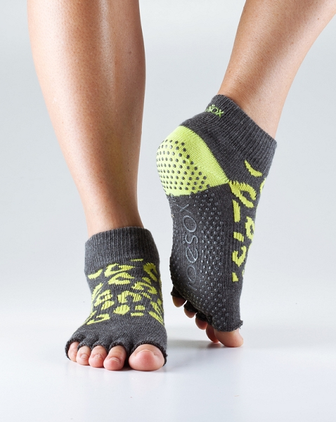 ToeSox with Grip – Half Toe Ankle by ToeSox, Inc.
