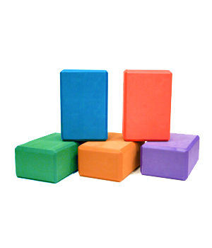 Foam Yoga Block 4″ X 6″ X 9″ by Yoga Direct