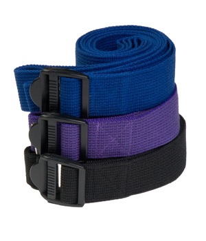 Yoga Strap – Plastic Buckle – 8 Feet by Yoga Direct