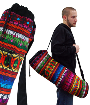 Guatemalan Mat Bag by Yoga Direct