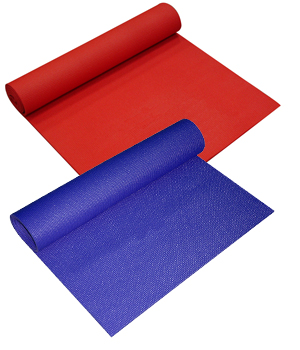 Yoga Direct 1/4 Inch Extra Thick Short Yoga Mat by Yoga Direct