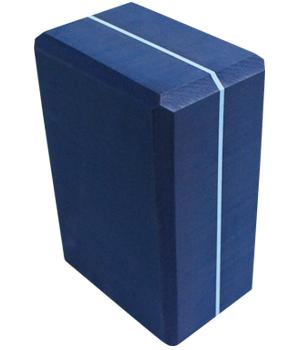 Striped Foam Yoga Block 4X6X9 by Yoga Direct