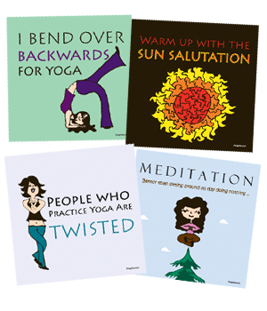 Yoga Pride Magnet by Yoga Direct