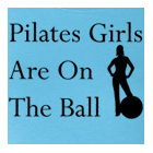 Ladies Shirt – Pilates Girls Are On The Ball by Yoga Direct