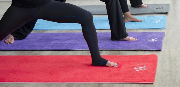 Namastay Yoga Towels Yoga Direct