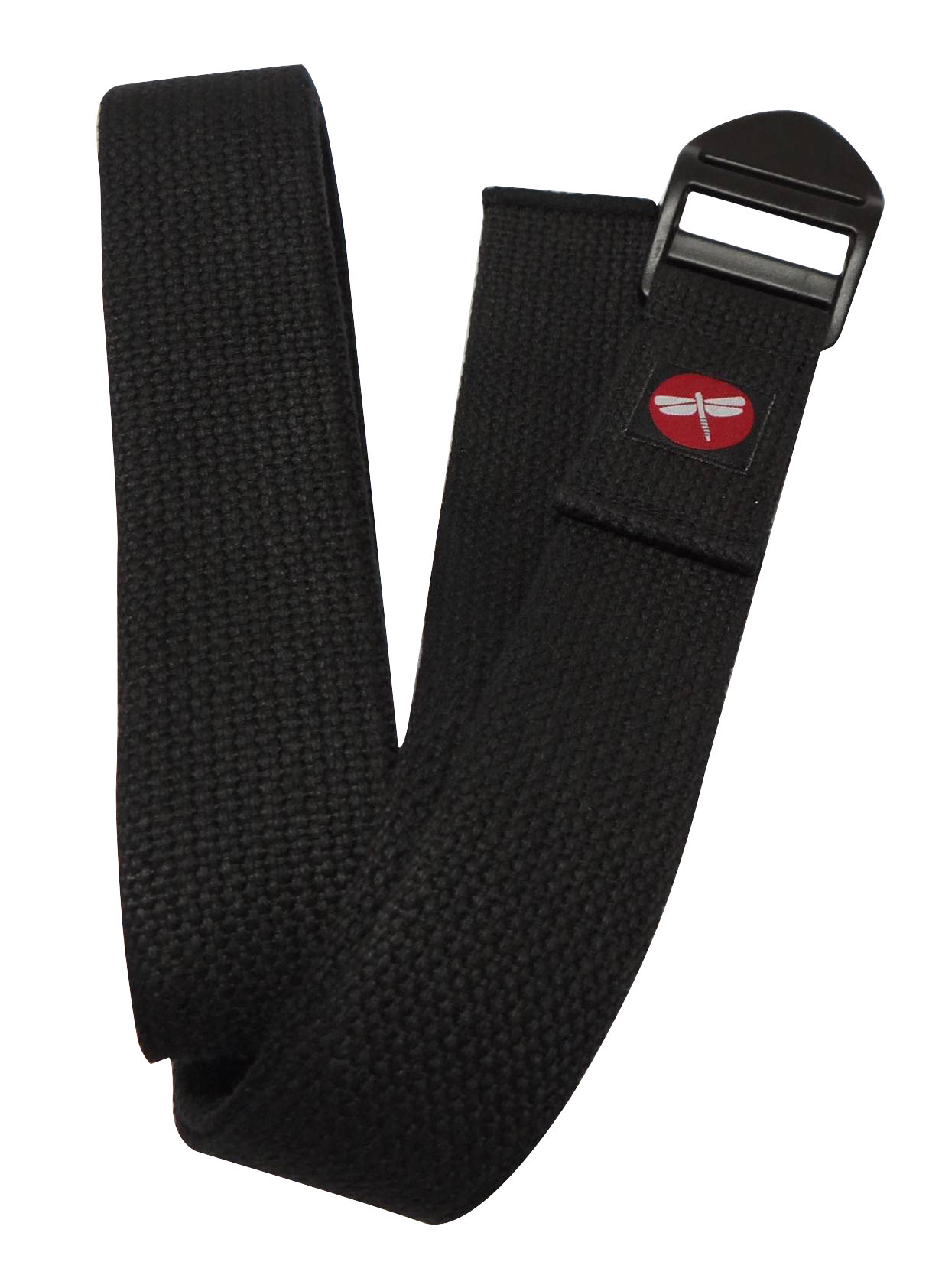 Dragonfly 8′ Cinch Buckle Cotton Yoga Strap by Dragonfly