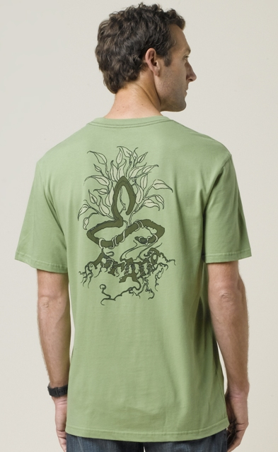 Mens Roots Organic Tee by prAna by Prana