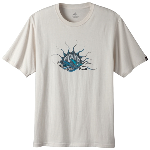 Mens Urchin Fair Trade Tee by prAna