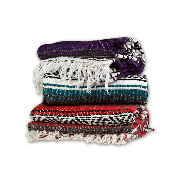 Traditional Mexican Yoga Blanket by Yoga Direct