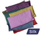Large Silk Eye Pillow (Natural)