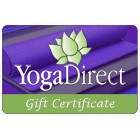 Gift Certificates from YogaDirect.com