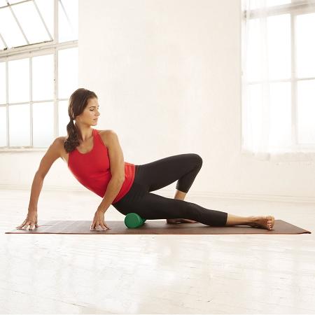 gaiam restore compact foam roller  yoga direct